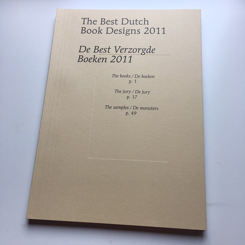 [카달로그] The Best Dutch Book Designs 2011