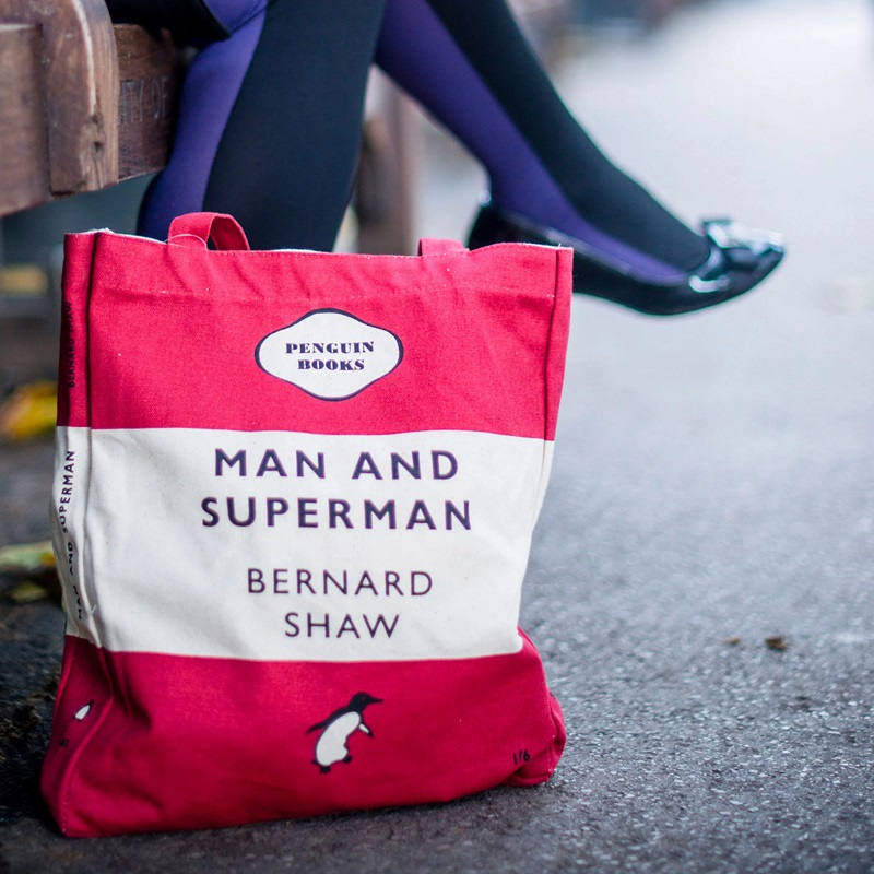 Tote Bag - Man and Superman