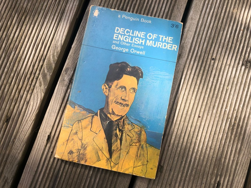 Decline of the English Murder and Other Essays [1965년 초판본]