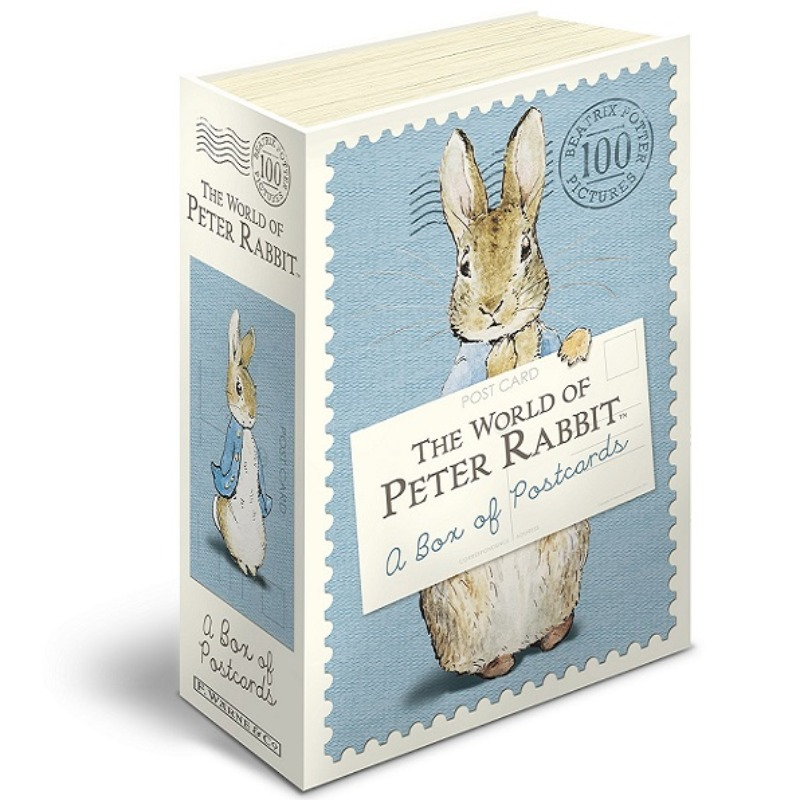 [엽서세트] The World of Peter Rabbit: A Box of Postcards